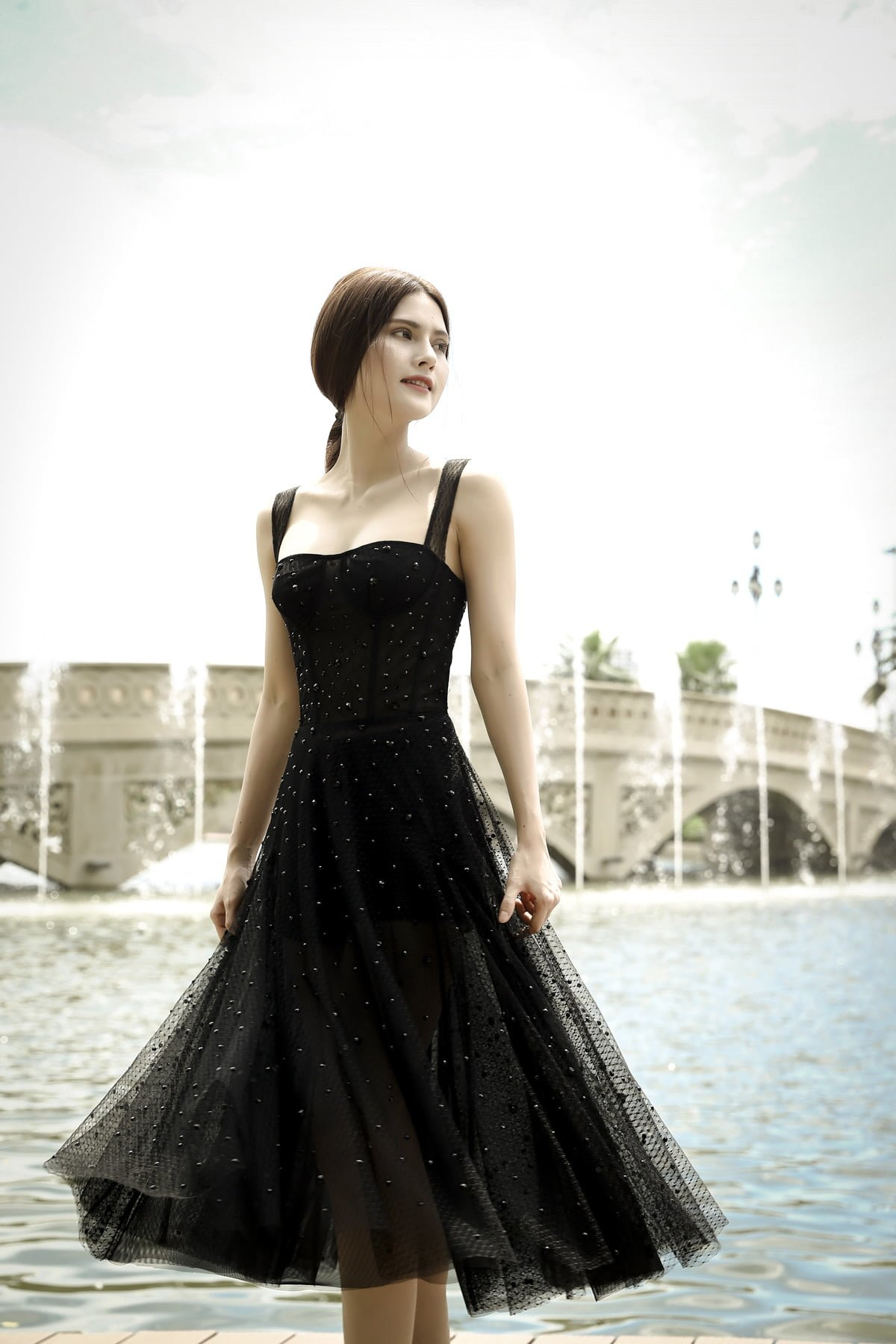 Tere-Anna Corset Tulle Dress 1