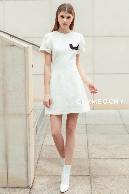 Magaly'n White Lace Dress 1