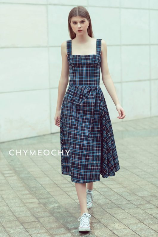 Celena Checkered Dress 1