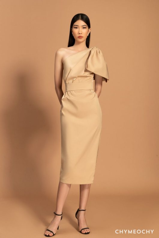 M'castilla Beige Dress 1