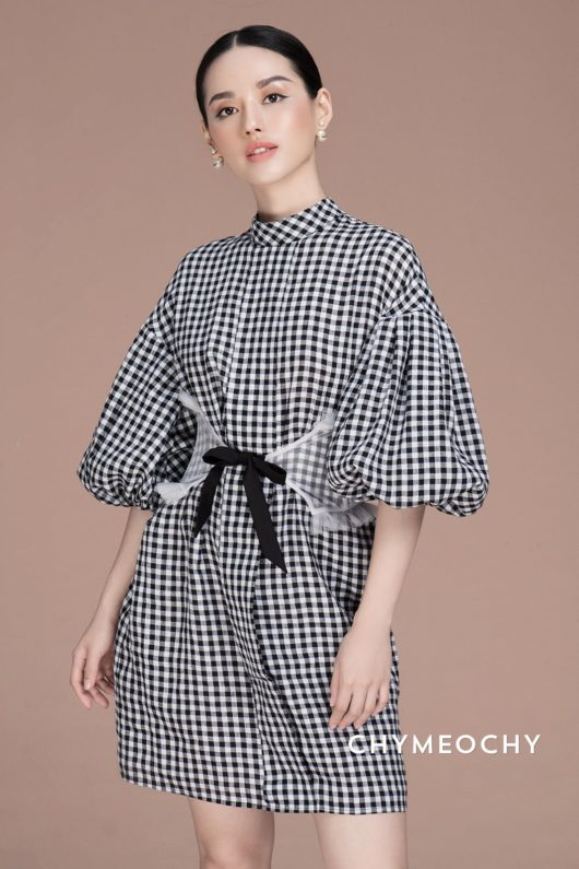 Gigi Checkered Dress 1