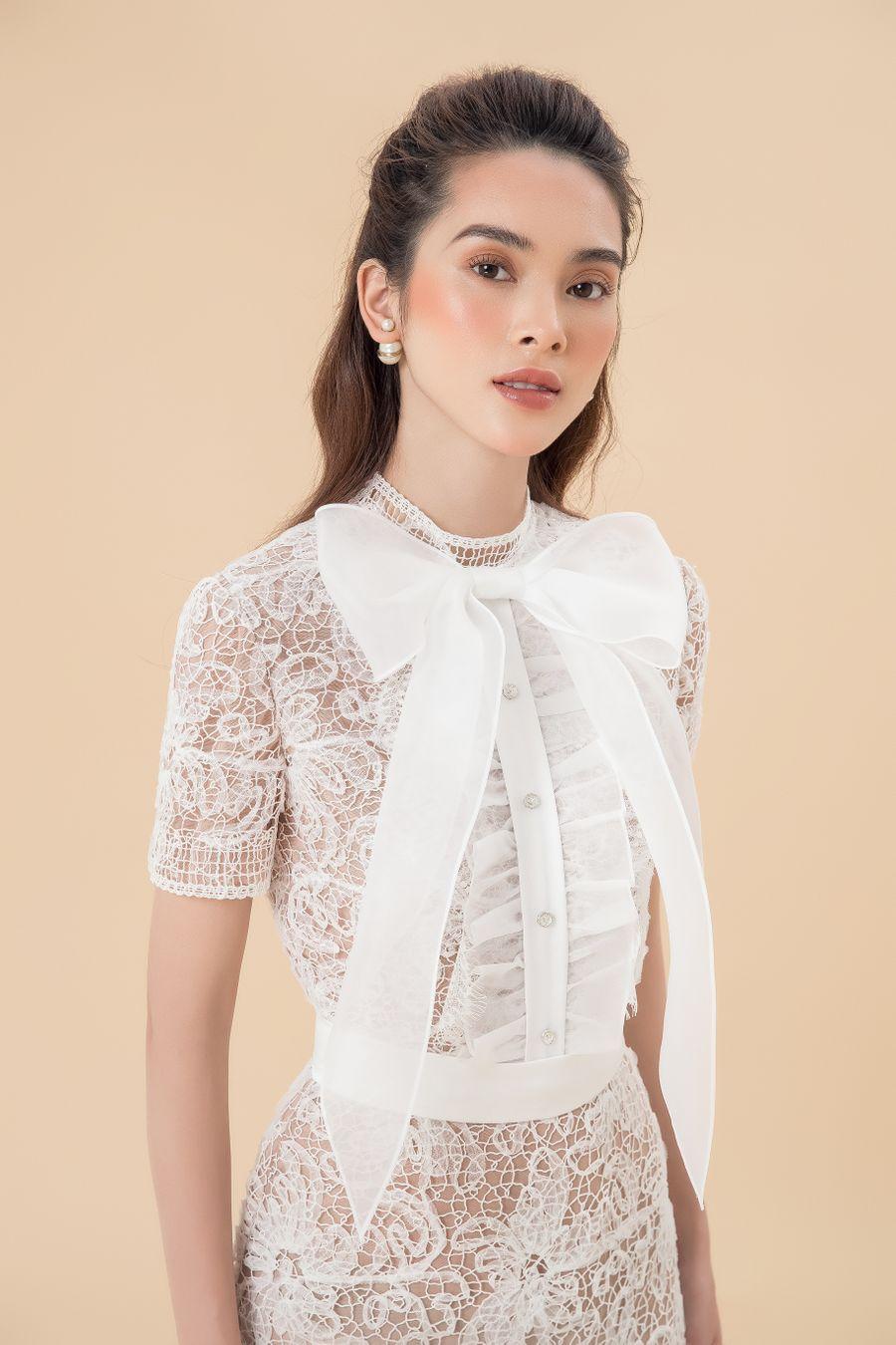 White on white - mặc như thế nào? 16