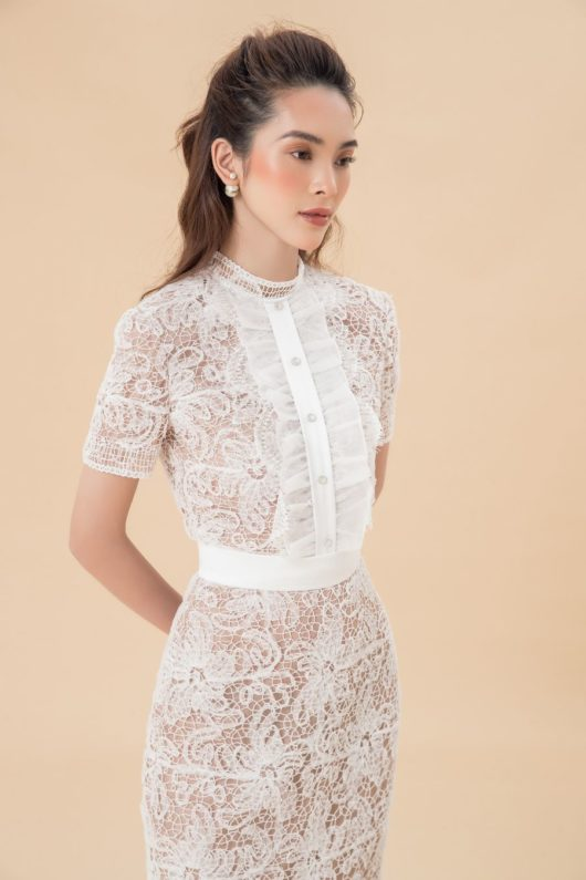 Dellas Lace Longuette Dress 2