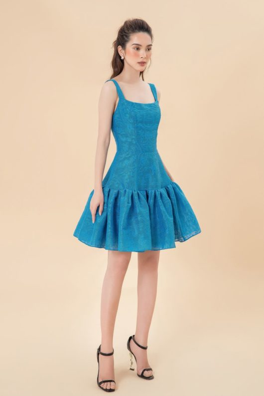 Limited Edition Blue Mini Dress 1