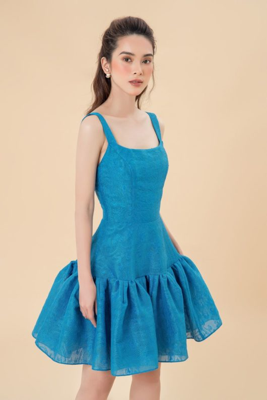 Limited Edition Blue Mini Dress 2