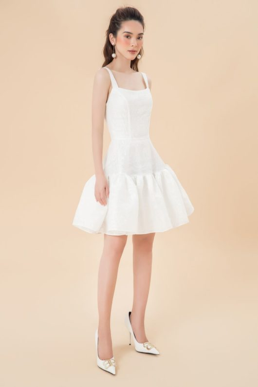 Limited Edition White Mini Dress 1