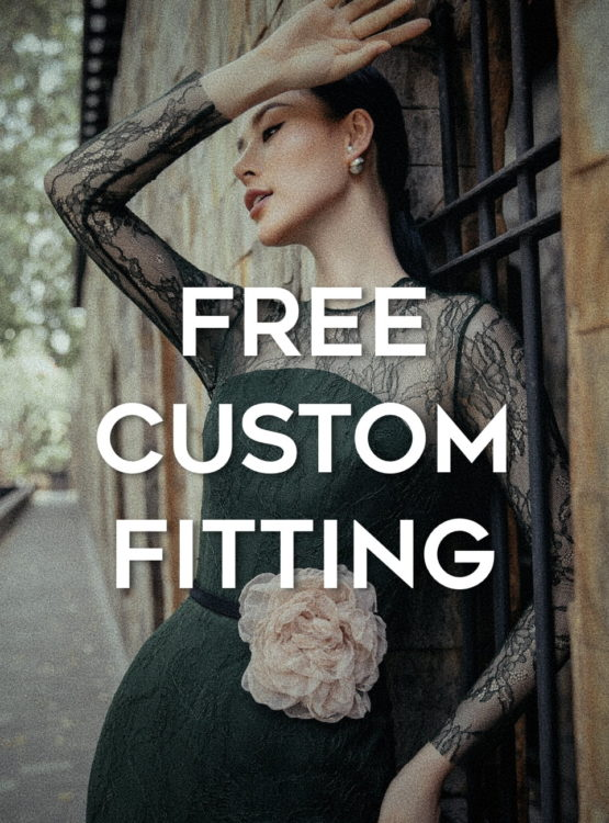 Custom Fitting at no surcharge 1